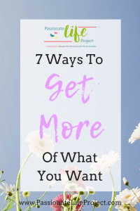 Get More of What You Want Without The Guilt